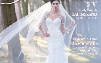Sesja ślubna magazynu Panna Młoda w Pałacu Rozalin